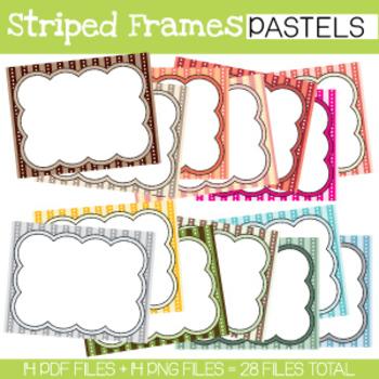 Striped Frames **BUNDLE**
