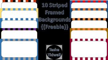 Striped Frames Version 1 {{Freebie}}