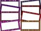 Striped Frames {for Commercial or Personal Use}