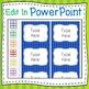 Striped Labels Editable Classroom Notebook Folder (RAINBOW, Avery 5164, 8164)