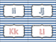 Striped Nautical Word Wall Labels