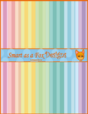 Digital Paper Stripe Pastel