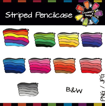 Striped Pencilcase [Back to School]