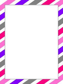 Stripes Border Paper