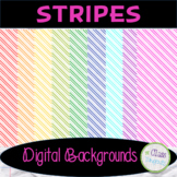 Stripes Digital Papers/Backgrounds