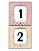 {Stripes} Growing Number Line Wall Decor
