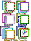 Stripes & Plaids Frame Set