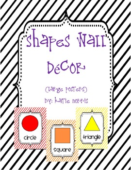 {Stripes} Shapes Wall Decor