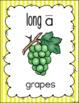 Stripes Vowel Posters Bundle