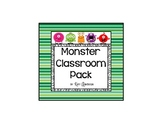 Stripes and Monsters Classroom Pack