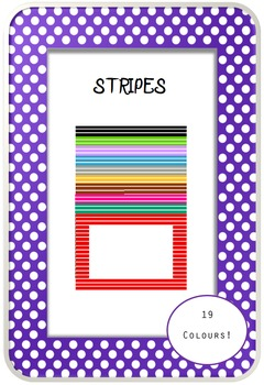 Frames Stripes by EdenEve