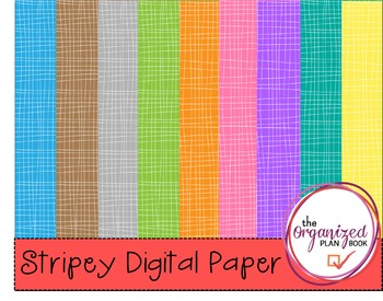 Stripey Digital Paper