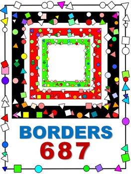 BORDERS 687