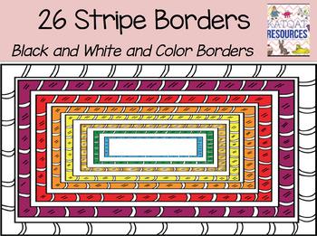 Stripy Borders