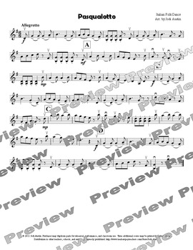 Four Pieces for Strolling Violin (sheet music for solo violin)