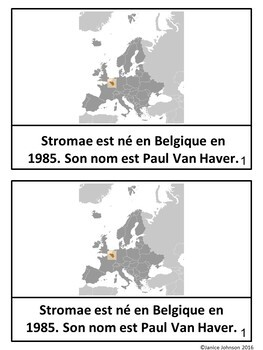 Stromae French Reader, Organizer, & Timeline {En français}