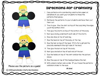 Circus Strong Kids Craft