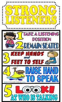 Benchmark Advanced Strong Listeners Poster