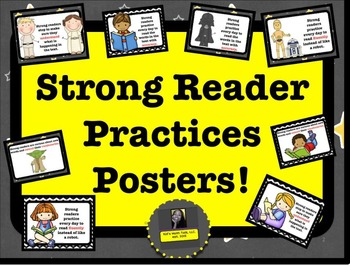 Strong Reader Practices Posters Set!