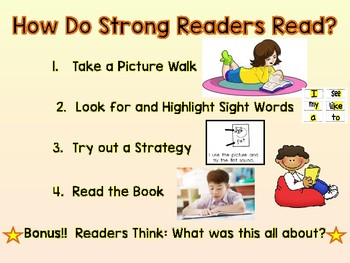 Strong Readers - Early Readers