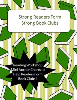 Strong Readers Form Strong Book Clubs