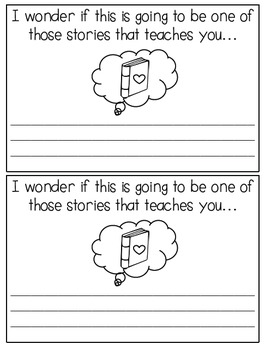 Strong Readers Learn Lessons