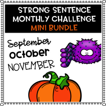 Strong Sentence Challenge (Fall Bundle)