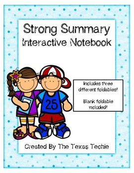 Strong Summary Interactive Notebook