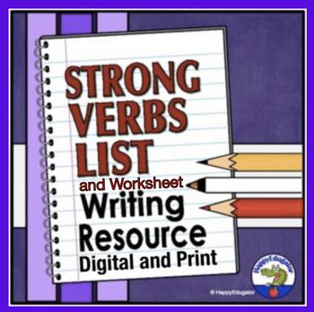 Strong Verb List