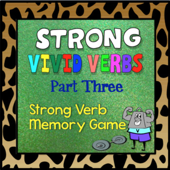 Strong Verb Memory Game