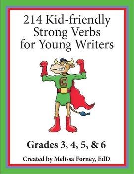Strong Verbs Grades 3 - 6