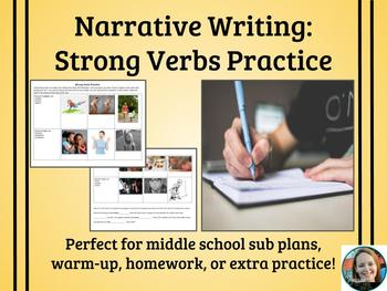 Strong Verbs Practice Activity