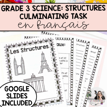 Strong and Stable Structures Culminating Activity (French Version)