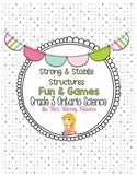 Strong and Stable Structures   Fun & Games   Grade 3 Ontar