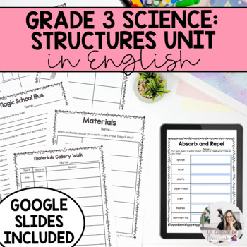 Grade 3 Strong and Stable Structures Unit (English Version)