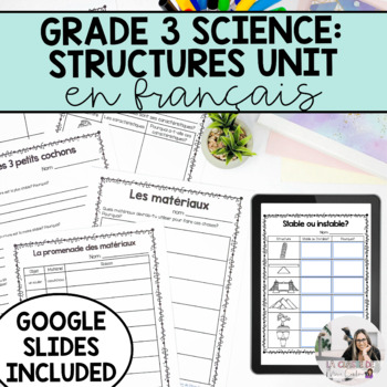 Strong and Stable Structures Unit / Les structures solides et stables (French)