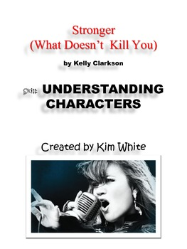 "Use Song Lyrics to TEACH  ""Understanding Characters"""