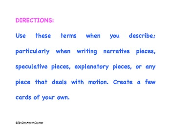 Strong diction leads to powerful writing