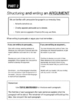 Structure An Argument Using Literary Devices (Write A Balanced Argument Pack)