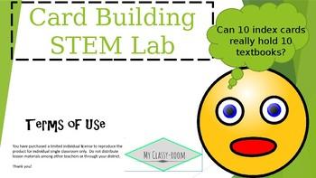 Structure Building STEM Lab