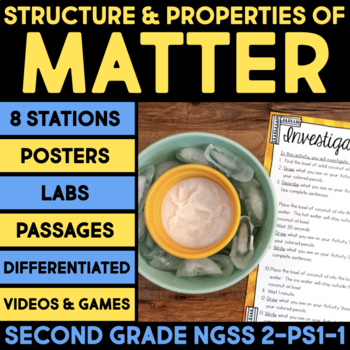 Structure & Properties of Matter - Second Grade Science ...