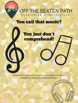 Structure, Technique, & Word Choice Matter! You call that Music?