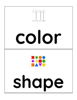 Structure Word Cards