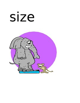 Structure Word Posters for Sensory Imaging