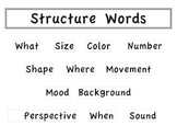 Structure Words: Visualizing & Verbalizing