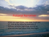 Structure and Elements of Fictional and Nonfictional Narratives