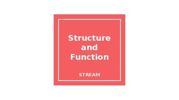 Structure and Function Powerpoint