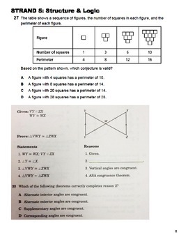 Structure and Logic Test Prep