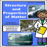 MATTER: STATES OF MATTER INTERACTIVE NOTEBOOK UNIT (Aligned with NGSS)