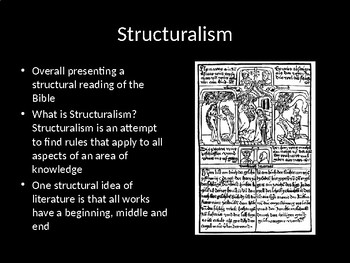 Structure and Symbols in the Bible